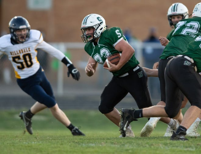 Smithville's Chandler Keener needs just 10 yards to break the school's career rushing record. He enters Friday's game against Northwestern with 3,463 career rushing yards.