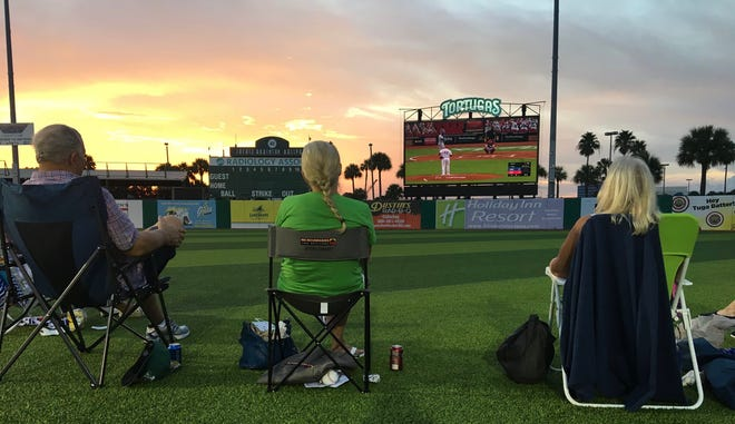 The Tortugas have held various movie nights since the pandemic begun, along with showing the Cincinnati Reds baseball game last month.
