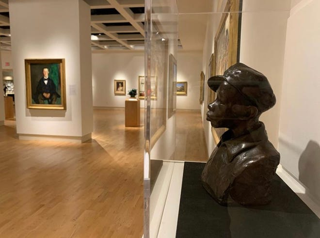 """""""Gamin"""" by Augusta Savage has returned to the Cummer Museum of Art & Gardens."""