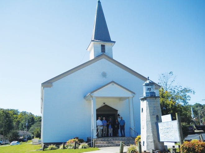 This year's winner of the Oak Ridge Heritage and Preservation Association's Historic Preservation Award is the Calvary Lighthouse Church. It was known as the East Chapel when it was built in 1943 as part of the Manhattan Project.