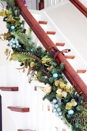 Want to learn how to make Christmas garland?