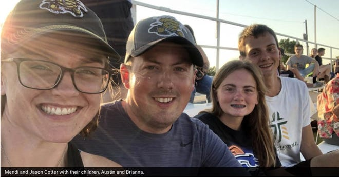 A scholarship has been created for Wichita State University students in memory of Mendi (Egging)Cotter, a Pratt native and graduate of Pratt High School.