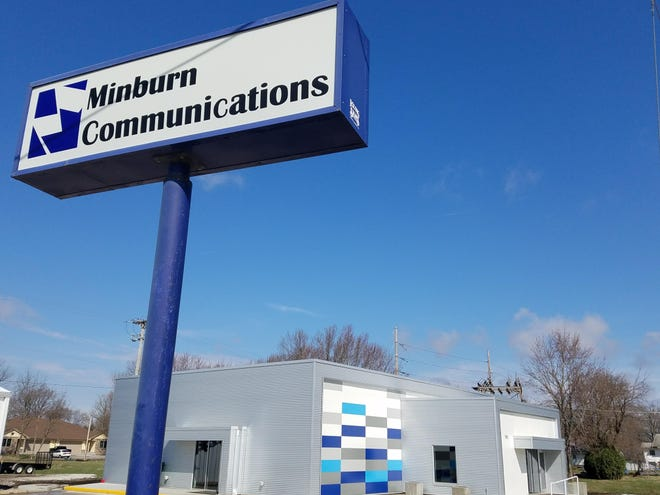 The Minburn Communications office in Woodward.