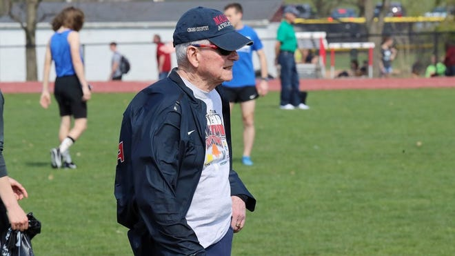 Jack Hazen has led the Malone cross country program to numerous national championships during his 54 years at the university.