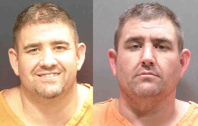 Christopher Brady, 36, left and his twin brother, Matthew Brady, both of Englewood.