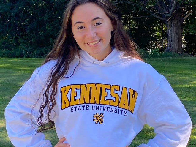 Monroe-Woodbury junior pitcher Brianna Roberts has committed to Division I Kennesaw State. PHOTO PROVIDED