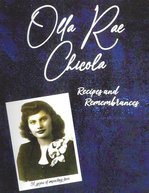 Those who donate $50 or more to the Manna House will receive a cookbook with the late Olla Chicola's recipes.