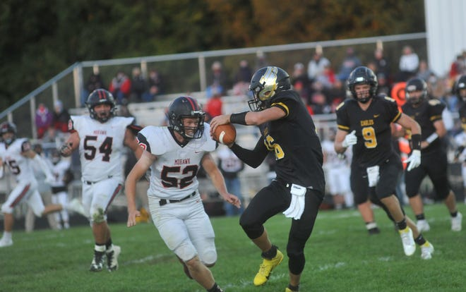 Brock Ritzhaupt and the Eagles will look to move one win away from the N10 title this week against Buckeye Central.