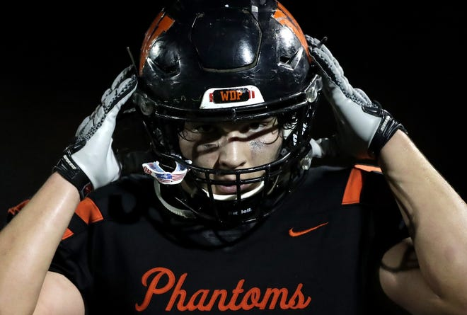 West De Pere's Braydon Skenandore was a first-team all-conference selection in the Bay as a junior in 2019.