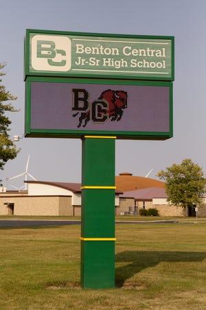 Benton Central Jr-Sr High School, Tuesday, Sept. 22, 2020 in Oxford.