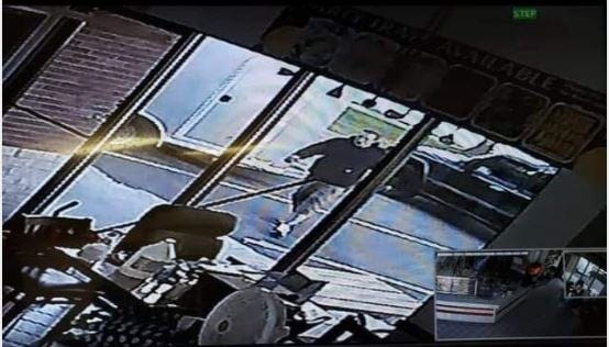 A trailer was stolen from China Express in Meridian Township Sunday evening.