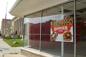 Amir Namani of Milwaukee plans to open Burger Town in South Milwaukee in October.
