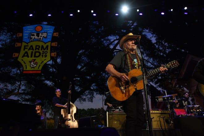Willie Nelson & Family perform at Farm Aid 2019. (Courtesy Farm Aid)