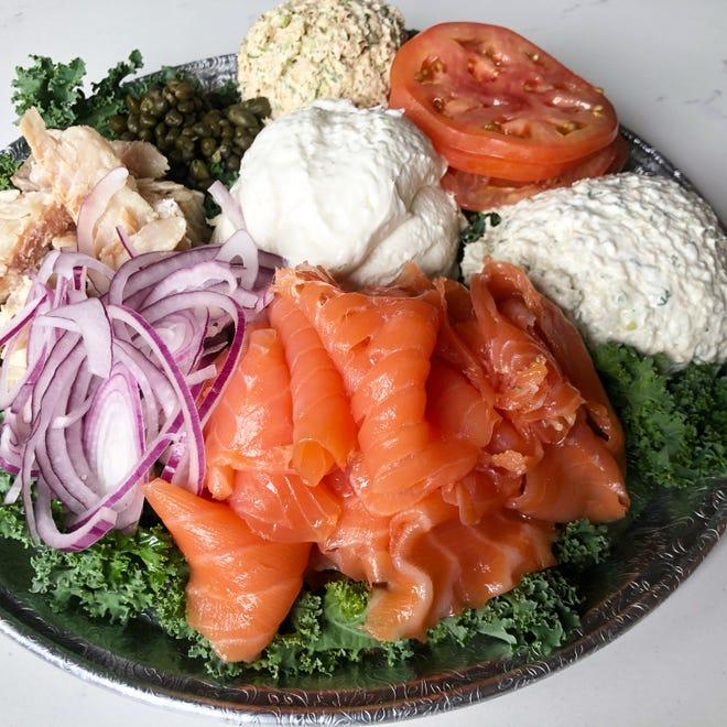 Seafood platter at Mikki & Al's in Montclair