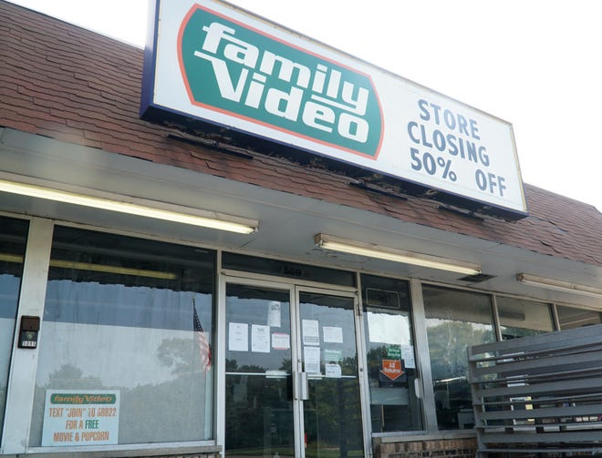 Family Video at 509 S. Lafayette in South Lyon was set to close later in September.