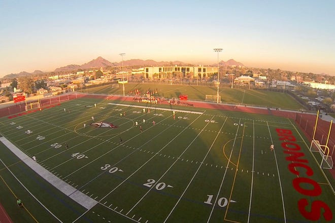 Brophy Sports Campus will be used to host home varsity football games for the first time this season. Photo from Brophy College Prep