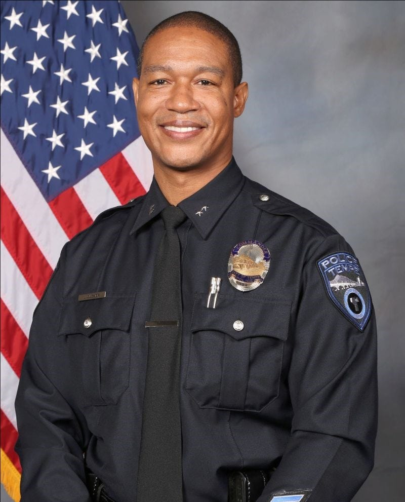 Interim Tempe police Chief Jeff Glover taking on job permanently