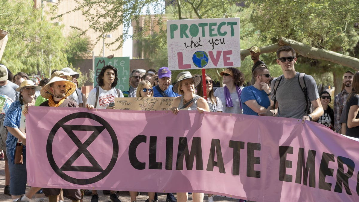 Vote to address climate change if we dont,...