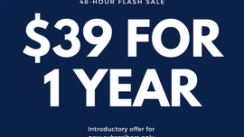 Subscribe now: 48-hour flash sale