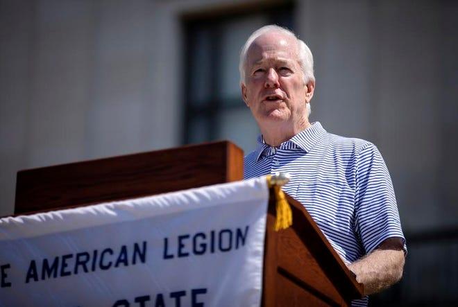 U.S. Sen. John Cornyn, R-Texas, is seeking his fourth term in office.