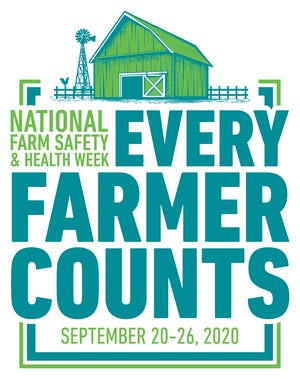 """The theme for National Farm Safety and Health Week 2020 is """"Every Farmer Counts"""".  The theme is to acknowledge, celebrate, and uplift America's farmers and ranchers who have encountered many challenges over the past couple of years, yet continue to work hard to provide the food, fiber, and fuel that we need."""