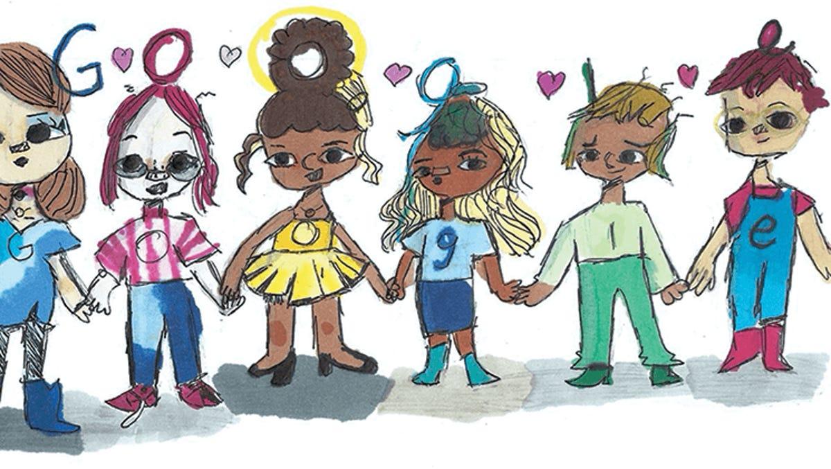 google doodle fifth grader wins us doodle for google contest google doodle fifth grader wins us