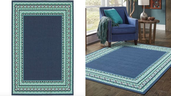 This rug could really tie the room together.