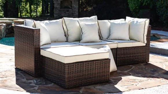 A sectional like this can make your autumn nights even cozier.