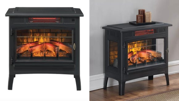 Warm up any space with this heater.
