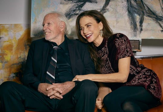"""Bruce Dern stars as a famous painter diagnosed with Alzheimer's and Lena Olin is his caring spouse in the relationship drama """"The Artist's Wife."""""""