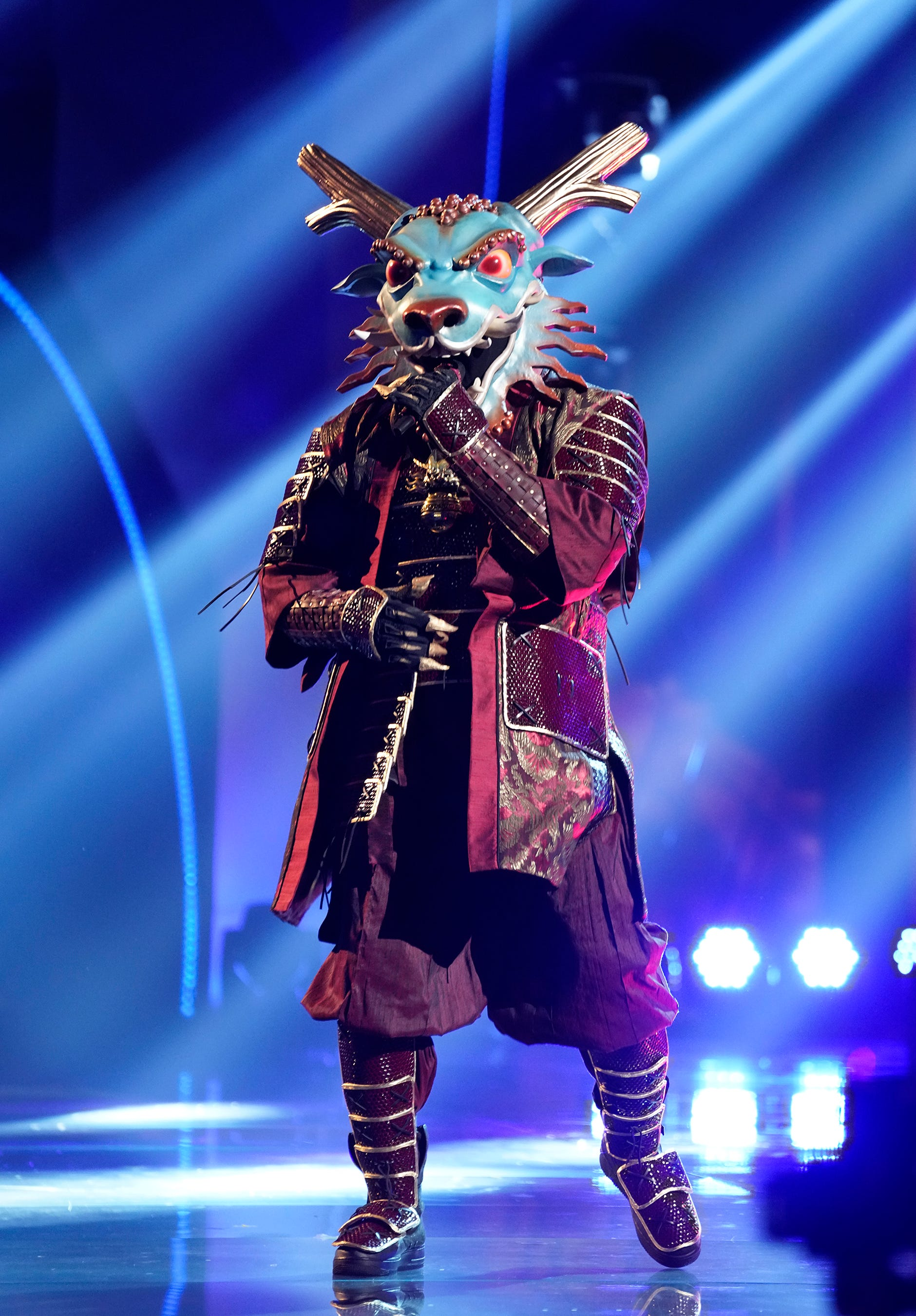 The Masked Singer Premiere Busta Rhyme s Dragon Eliminated