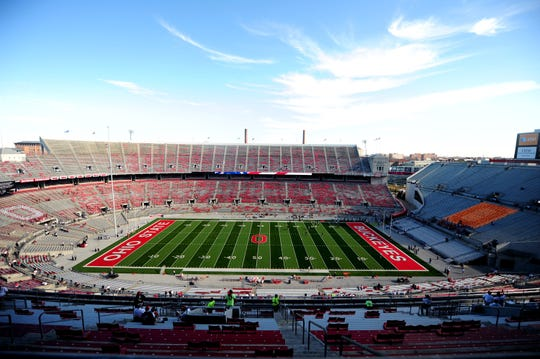 The Ohio State athletic department projects a $107 million deficit because of the COVID-19 pandemic,