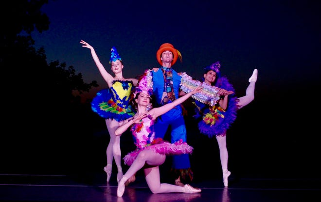 """The Cleveland Ballet will perform """"The Magic Flute"""" on the grounds of Stan Hywet Oct. 17."""