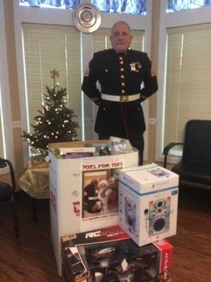 Retired Marine Corps Staff Sgt. Kevin Miller, the Bucks County Toys for Tots coordinator, said the program is waiting on final approval for a Lower Bucks warehouse.