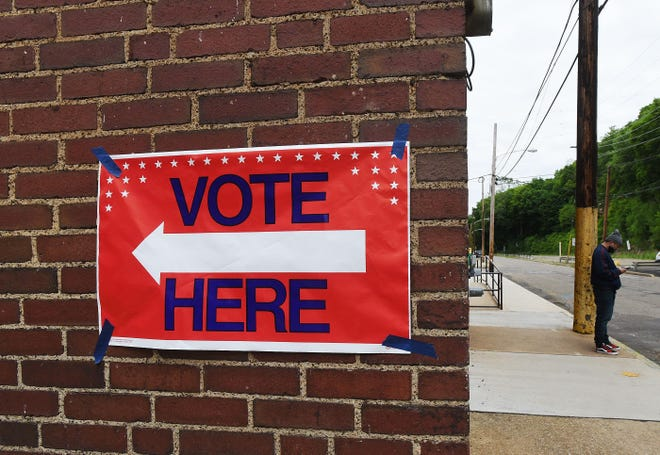 Election and political officials expect a record voter turnout in Tuesday's presidential election. [Sally Maxson/BCT file]