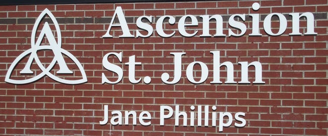 Ascension St. John sign