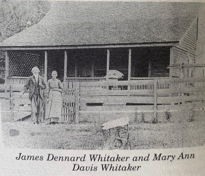 James Dennard Whitaker and MAry Ann Davis Whitaker