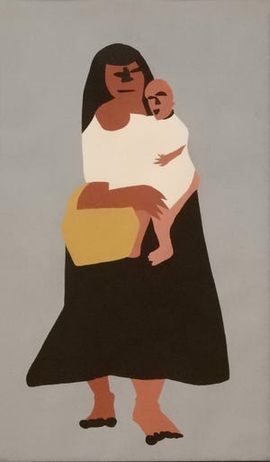 """Mother and Child"" by Ralston Thompson"