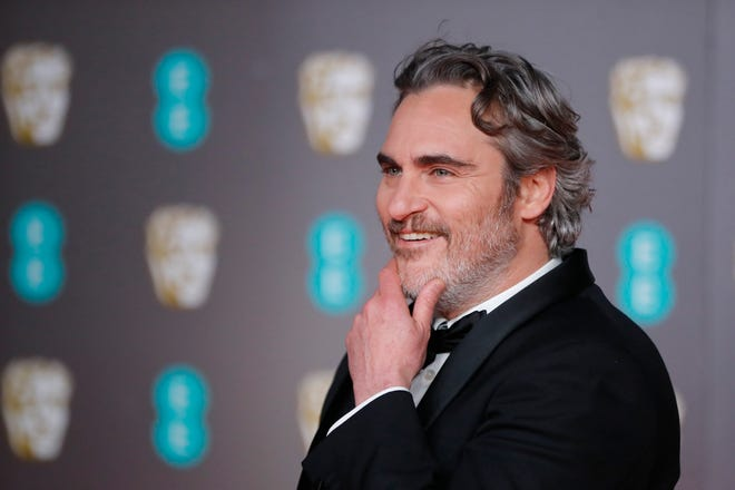 "American actor Joaquin Phoenix, who won a British Academy of Film & Television Arts acting award for his performance in ""The Joker,"" was among many who called for BAFTA to address a lack of diversity in both its membership and voting outcomes."