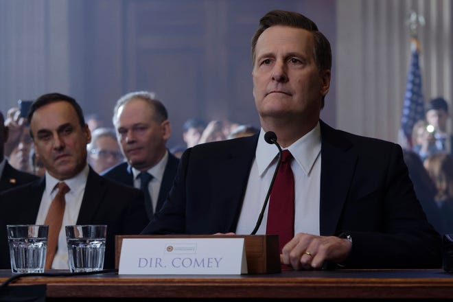 """Jeff Daniels as James Comey in """"The Comey Rule"""""""