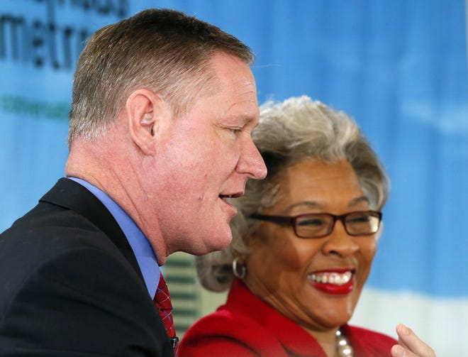 U.S. Reps. Steve Stivers, R-Columbus, and Joyce Beatty, D-Blacklick, took to Twitter to comment on President Donald Trump's refusal to commit to a peaceful transition of power if he loses re-election.