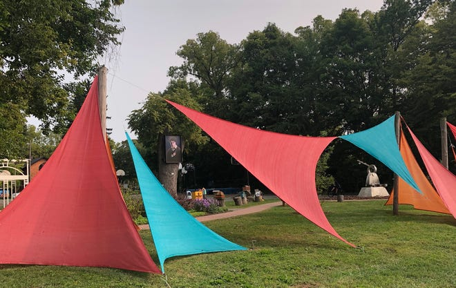 Boardman Arts Park in Delaware is competing for a $100,000 grant from the Gannett Foundation-sponsored A Community Thrives initiative that it would use to add more green space, public art and a play structure. [BOARDMAN ARTS PARK]
