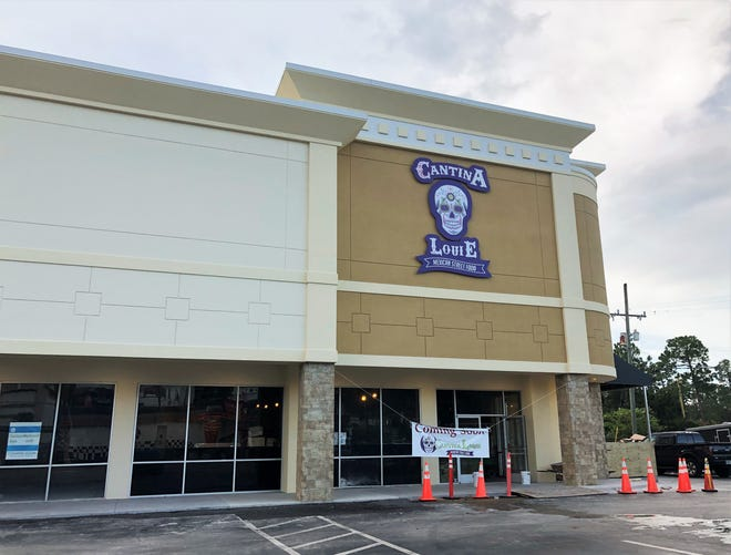 Mexican restaurant chain Cantina Louie will soon open a location in the shopping center across from Daytona International Speedway, which also houses a Carrabba's Italian Grill restaurant and a Pep Boys Auto Parts & Service, at 2200 W. International Speedway Blvd. in Daytona Beach, pictured in Aug. 27, 2020.