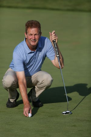 Joe Butler, the PGA Head Golf Professional at the Burlington Golf Club, is shown on one of the club's putting greens July 24, 2019 at the Burlington facility. Butler was named Iowa PGA Golf Professional of the Year.