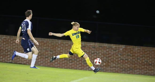 North Carolina-Wilmington soccer player Cannon Tootle, a former Swansboro High standout, said the Seahawks are doing as much as they can amid the COVID-19 pandemic. [UNCW Athletics]