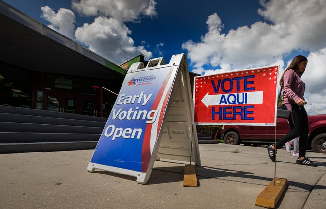 Polk County voters will begin to decide six state Constitution amendments on the ballot when early voting for the general election opens Oct. 19.