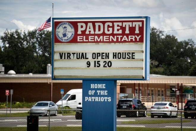 Padgett Elementary School in Lakeland is among the 68 public school campuses in Polk County to have been reported with a confirmed case of COVID-19.