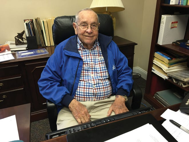 John Auxier with his trademark smile, good humor, and a world renowned expert health physicist. He died on Aug. 27, 2020.