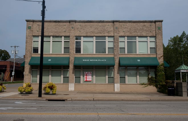 West River Place, at 265 W. Main St. in Kent, is for sale. But the building is going on the market at a time when many office workers still work from home.