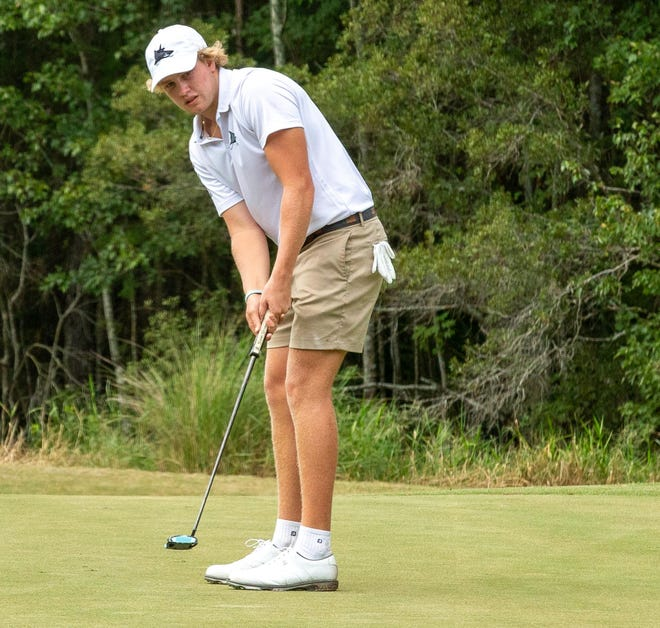 Connor Holcroft of Ponte Vedra Beach is one of 10 area players in the Florida Junior Tour Championship Nov. 14-15.